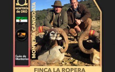 Un año más, Finca La Ropera seleccionada como una de las mejores monterías del panorama cinegético a nivel nacional