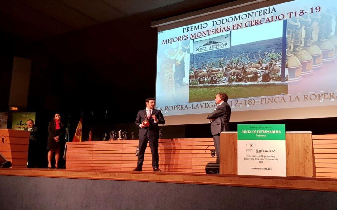 Finca La Ropera recibió en FECIEX el premio otorgado por Todomontería.com